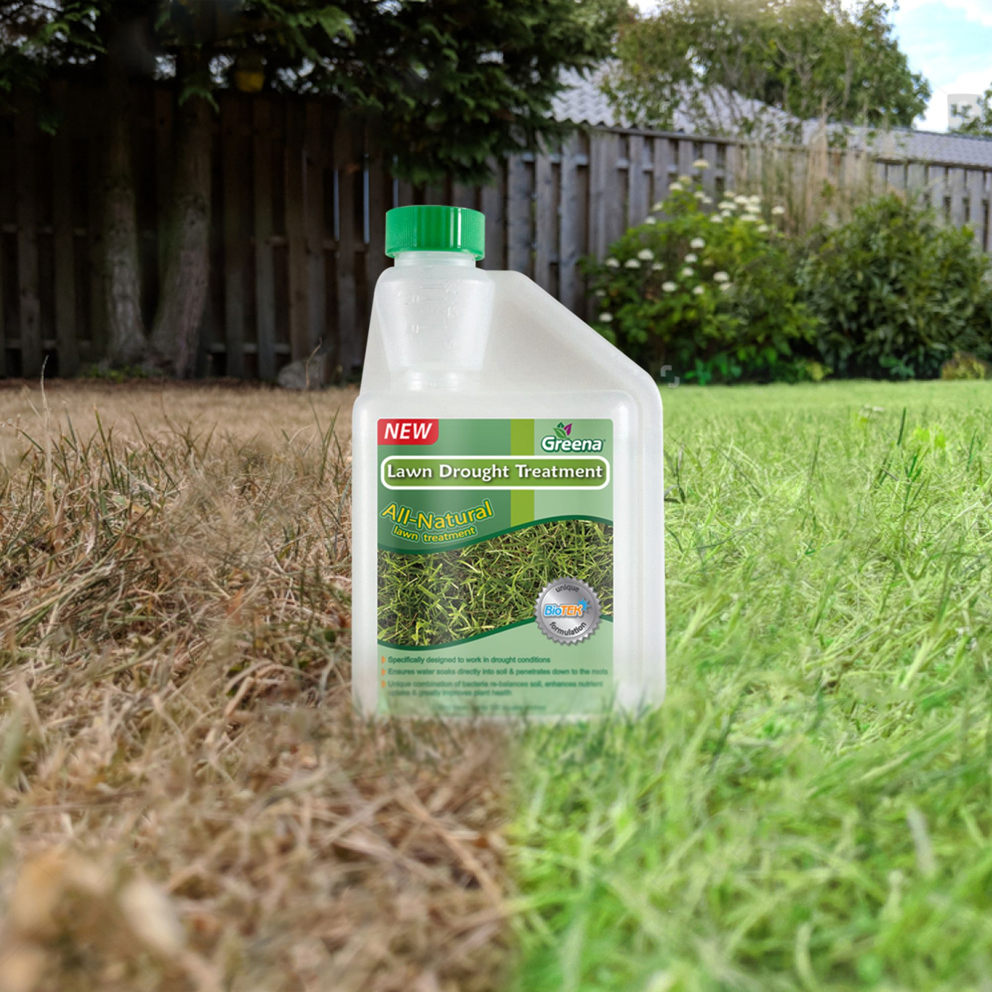 All Natural Lawn Drought Treatment £7.99