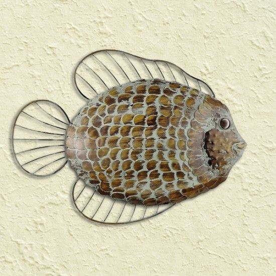 Flat Fish Wall Art