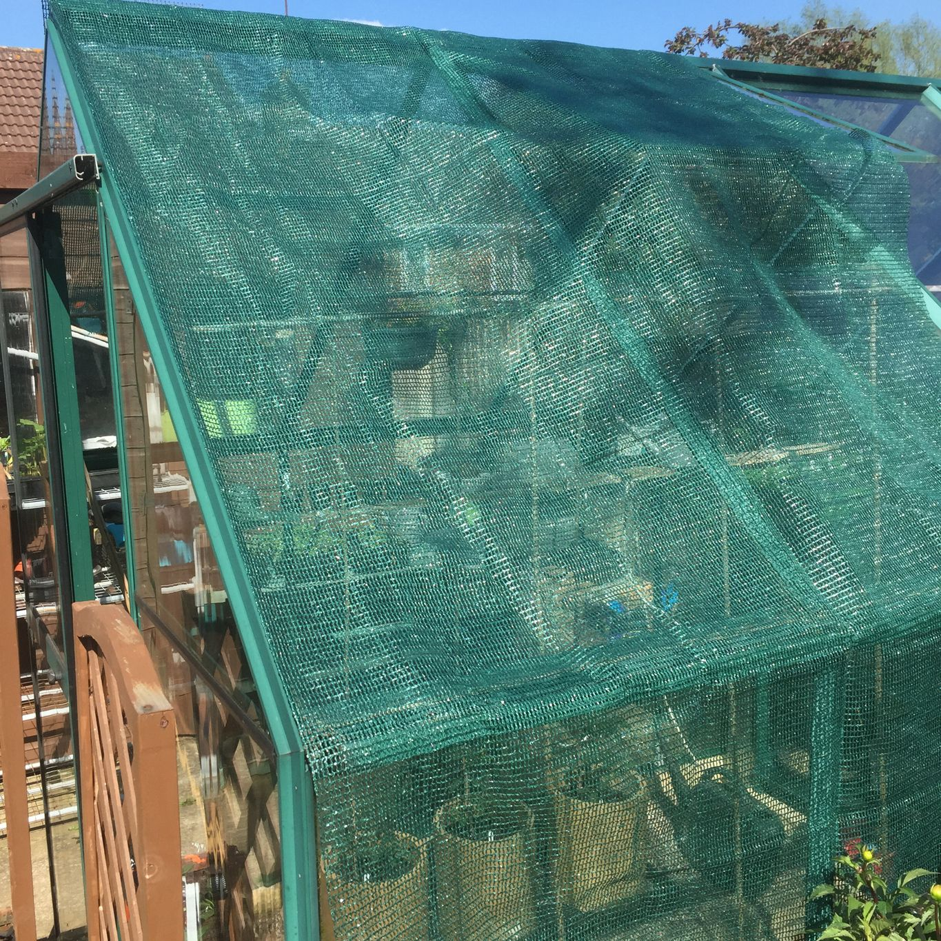 Greenhouse Shading 1.2 x 2.5m Only £6.99