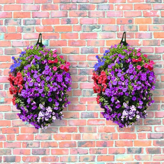 Long Hanging Flower Planters from £5.99