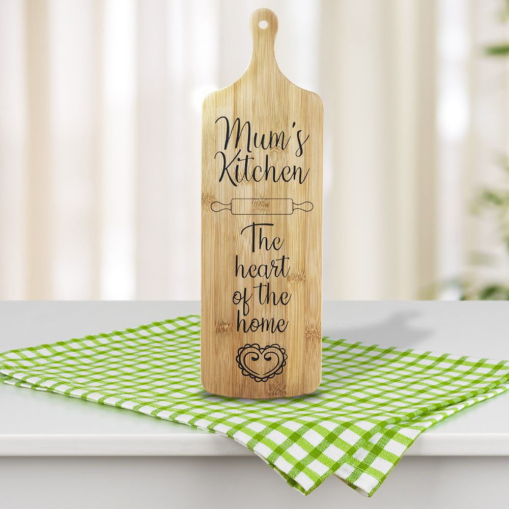 Personalised Mum's Kitchen Serving Platter Wall Art £29.99