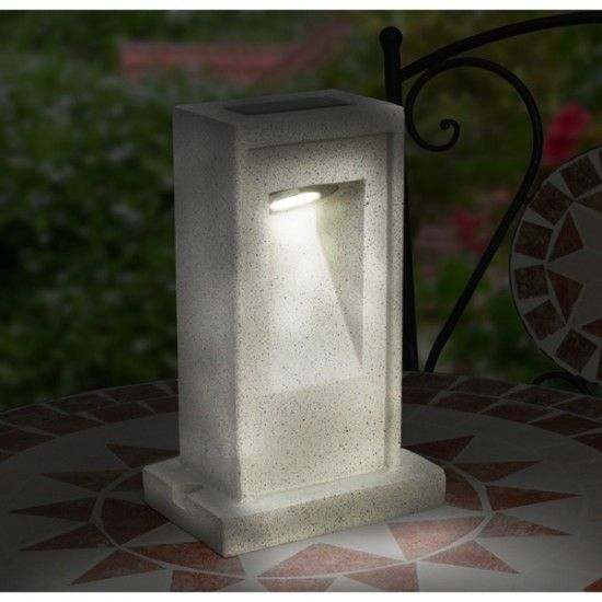 Solar Sandstone Path Light
